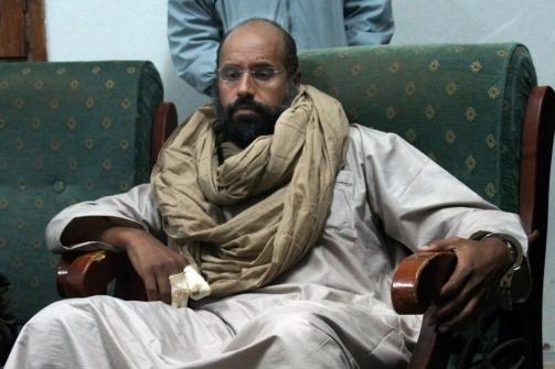 Saif el Islam Gadafi. Foto: AP