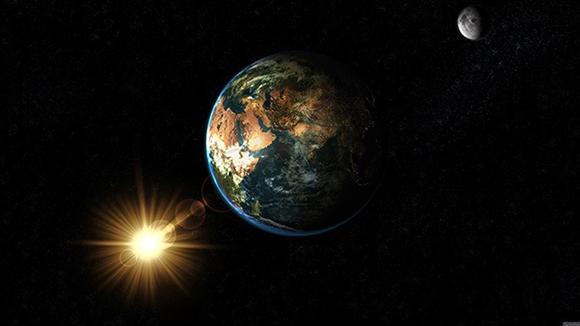 La Tierra orbita alrededor del Sol