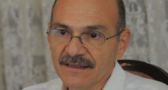 Dr José Luis Di Fábio, representante de la Organización Mundial de la Salud/ Organización Panamericana de la Salud, en Cuba. Foto: Juventud Rebelde.